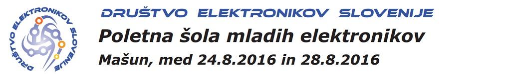 Poletna šola mladih elektronikov, Mašun 2016