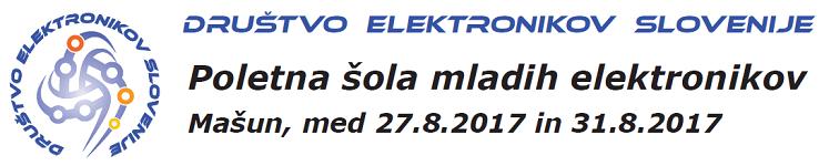 Poletna šola mladih elektronikov, Mašun 2017